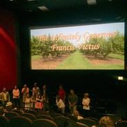 Inside Theater Francis Victus Premiere.j
