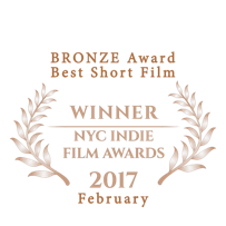 BRONZE Award Best Short Film from NYC In