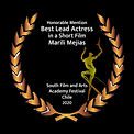 Laurel Best Lead Actress in a Short Film
