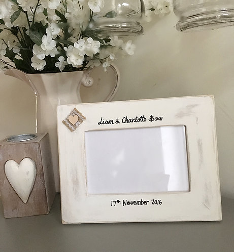 Personalised Wedding frame