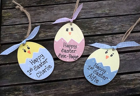 Personalised Chick tags