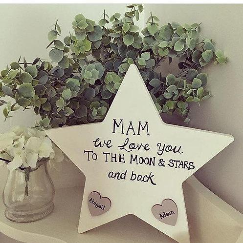 Mum Nan Mother Nain Nanna Grandmas Star