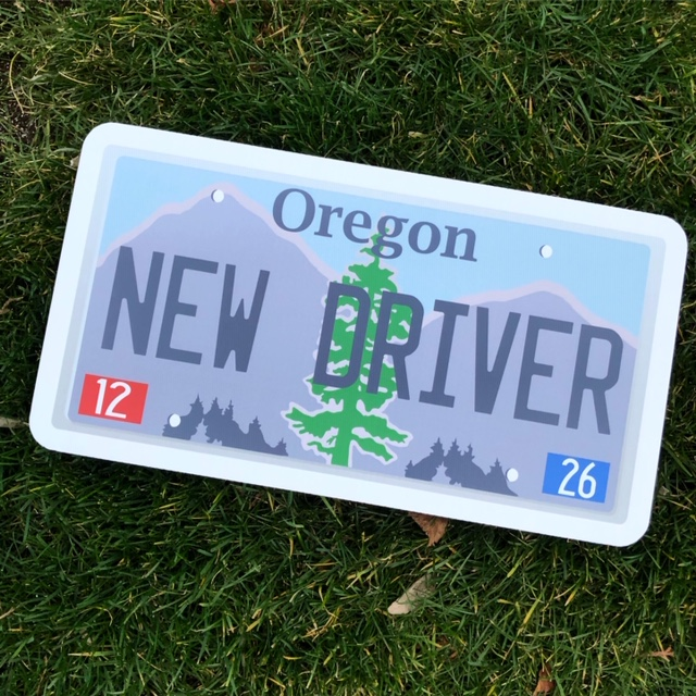 New Driver Plate