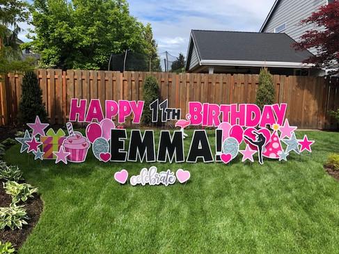 11th Birthday decorations
