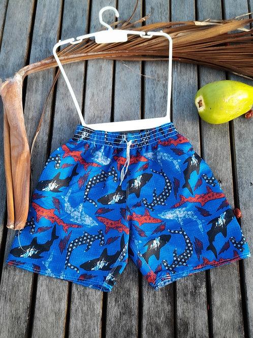 Men's Blue beach Shorts  - Paixão no. 54