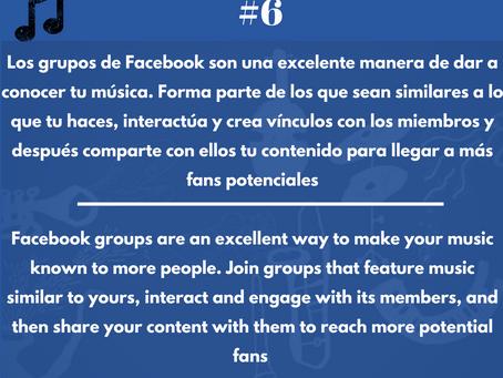 Los grupos de facebook, una excelente plataforma para darse a conocer y ganar más seguidores