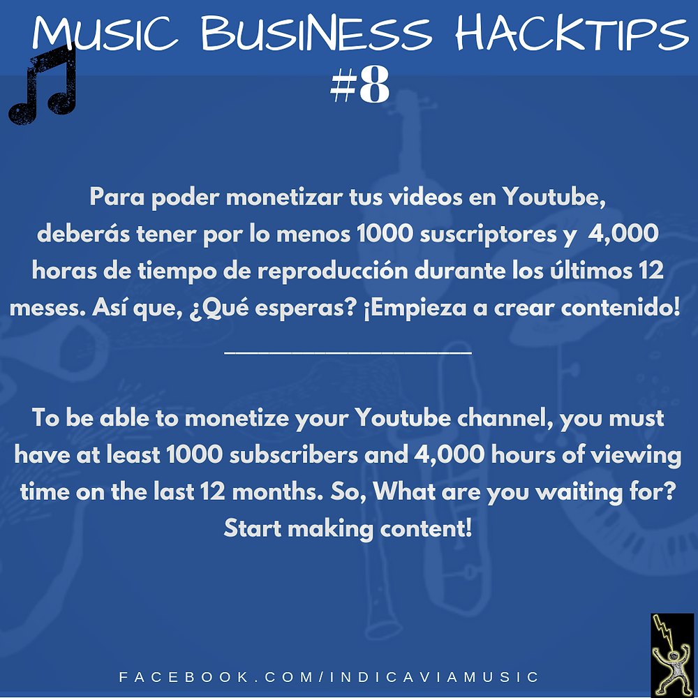 Requisitos para monetizar en youtube