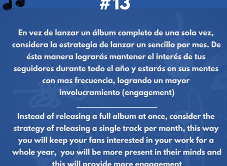 Mejor lanza sencillos y no álbums