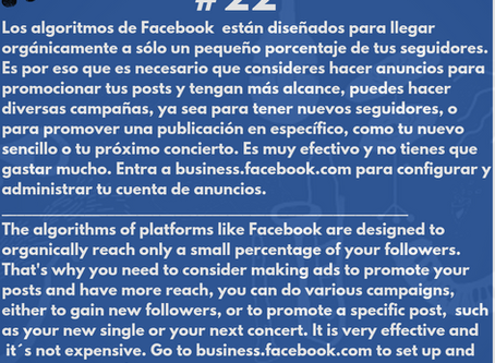 Los anuncios de Facebook. Una herramienta poderosa .