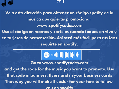 Códigos de Spotify:Una excelente herramienta de promoción