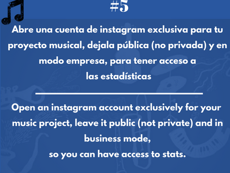 """Instagram, una red social muy dinámica. Debe estar pública y en """"modo negocio"""""""