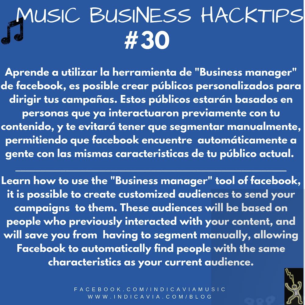 Aprende a crear públicos en el business manager de facebook