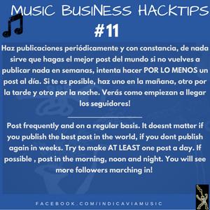 Music business Hacktip #11