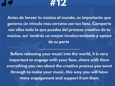 Involúcrate con tus fans ANTES de lanzar tu música