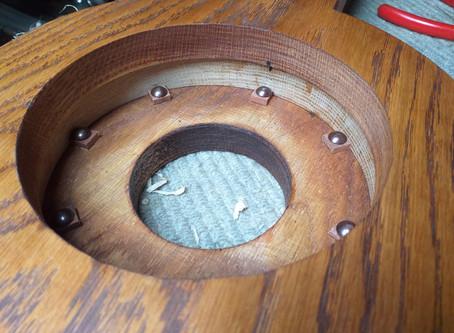 oak and maple mountain banjo
