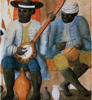 Early plantation banjo