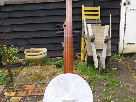 1st of 3 grain measure banjos