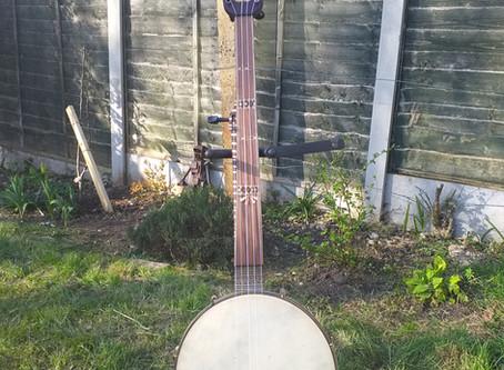 Tunbridgeware banjo?