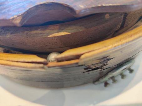 Banjolele restoration.