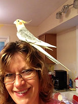 Cindi Manning with bird