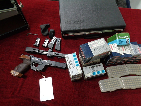 RARE WALTHER GSP COMPETITION .22 TARGET PISTOL