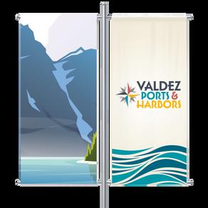 Port of Valdez Banners