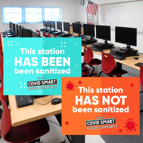 Laminated Station Signage
