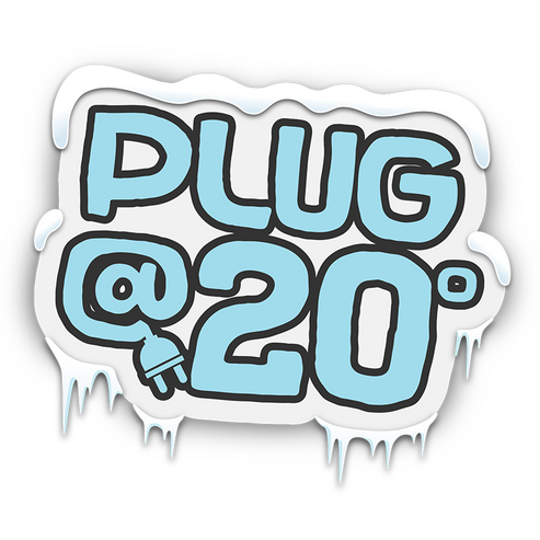 Plug@20 Logo Design