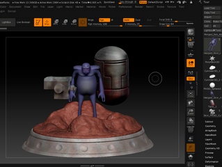 Diving into Zbrush