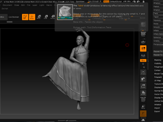 Zbrush tutorials continue