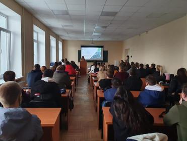 Рабочая встреча со студентами 4 курса землеустроительного факультета КубГАУ