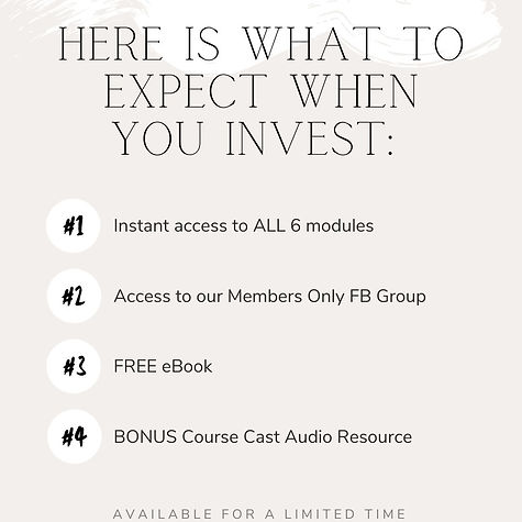 Here is what to expect when you invest_.