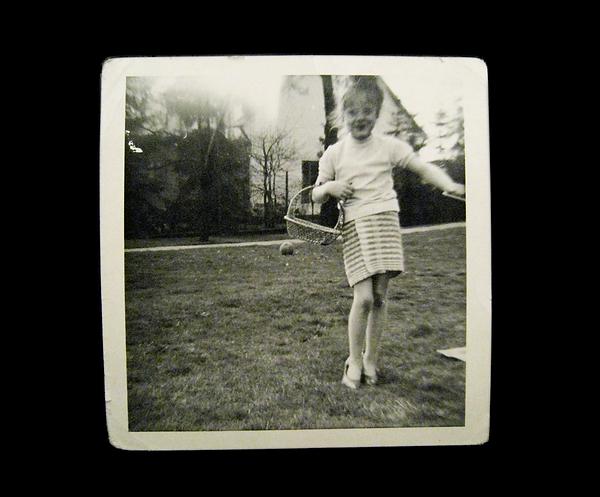 Polaroid-Foto von Uli Wickert
