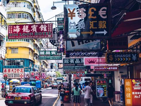 Destination Chine, pardon, Hong Kong!