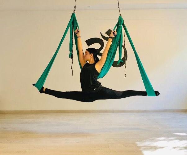 Air Yoga.