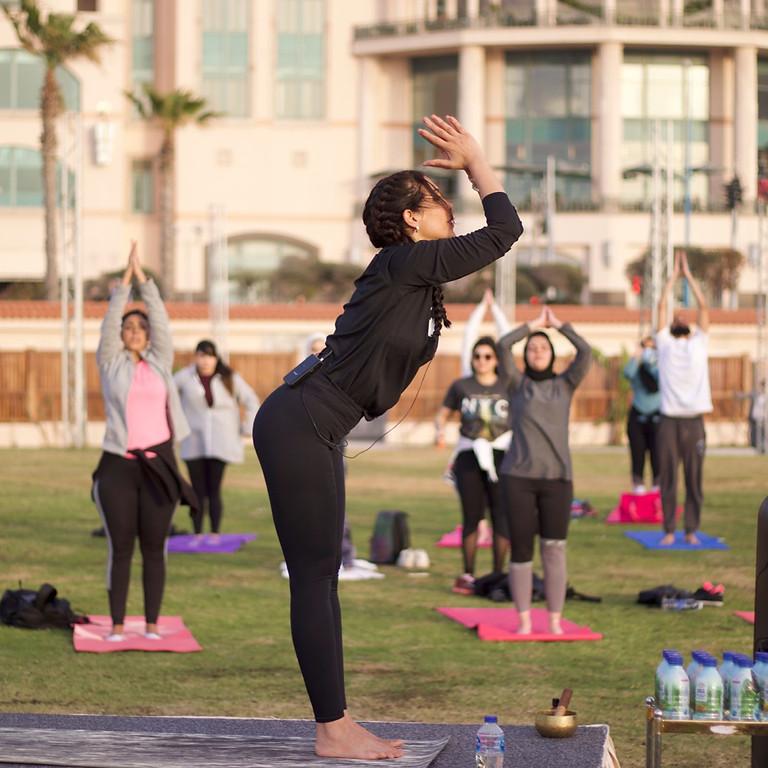 Sunset Yoga by the Beach (Four Seasons Alexandria)   (1)