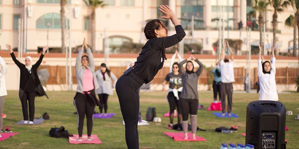 Sunset Yoga by the Beach (Four Seasons Alexandria)         (2)