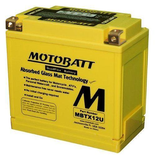 Motobatt MBTX12U - CTX12BS, CTX14BS, 14HBS, 14LBS