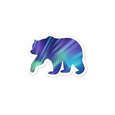 Aurora Bear - Vinyl Bubble-free stickers