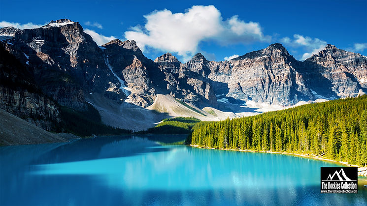 Moraine Lake Zoom Background - www.thero