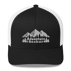 Adventure Seeker - Trucker Cap (Multi Colors) The Rocky Mountains