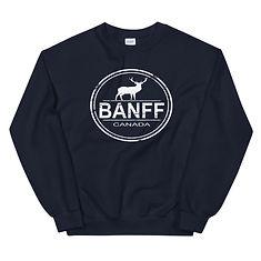 Banff Alberta Canada - Sweatshirt (Multi Colors) The Rockies Canadian Rocky Mountains