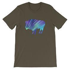 Aurora Bison - T-Shirt (Multi Colors)