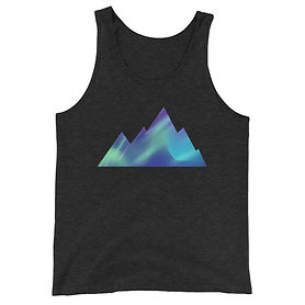The Rockies Collection - Aurora Mountains - Tank Top (Multi Color