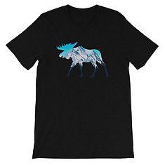 Moose Landscape - T-Shirt (Multi Colors)