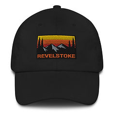 Revelstoke British Columbia - Baseball / Dad hat (Multi Colors) Canadian Rocky Mountains