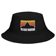 The Rocky Mountains - Bucket Hat (Multi Colors)