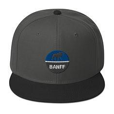 Banff Alberta Canada - Snapback Hat (Multi Color)