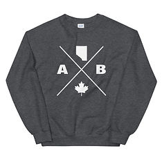 Alberta Lifestyle - Sweatshirt (Multi Colors) The Rockies Canadian Rocky Mountains