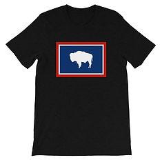 Wyoming Flag - T-Shirt (Multi Colors)